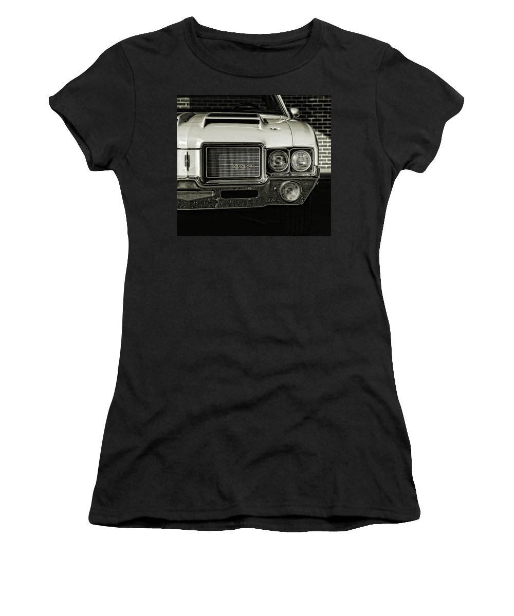 1972 Women's T-Shirt featuring the photograph 1972 Olds 442 by Gordon Dean II