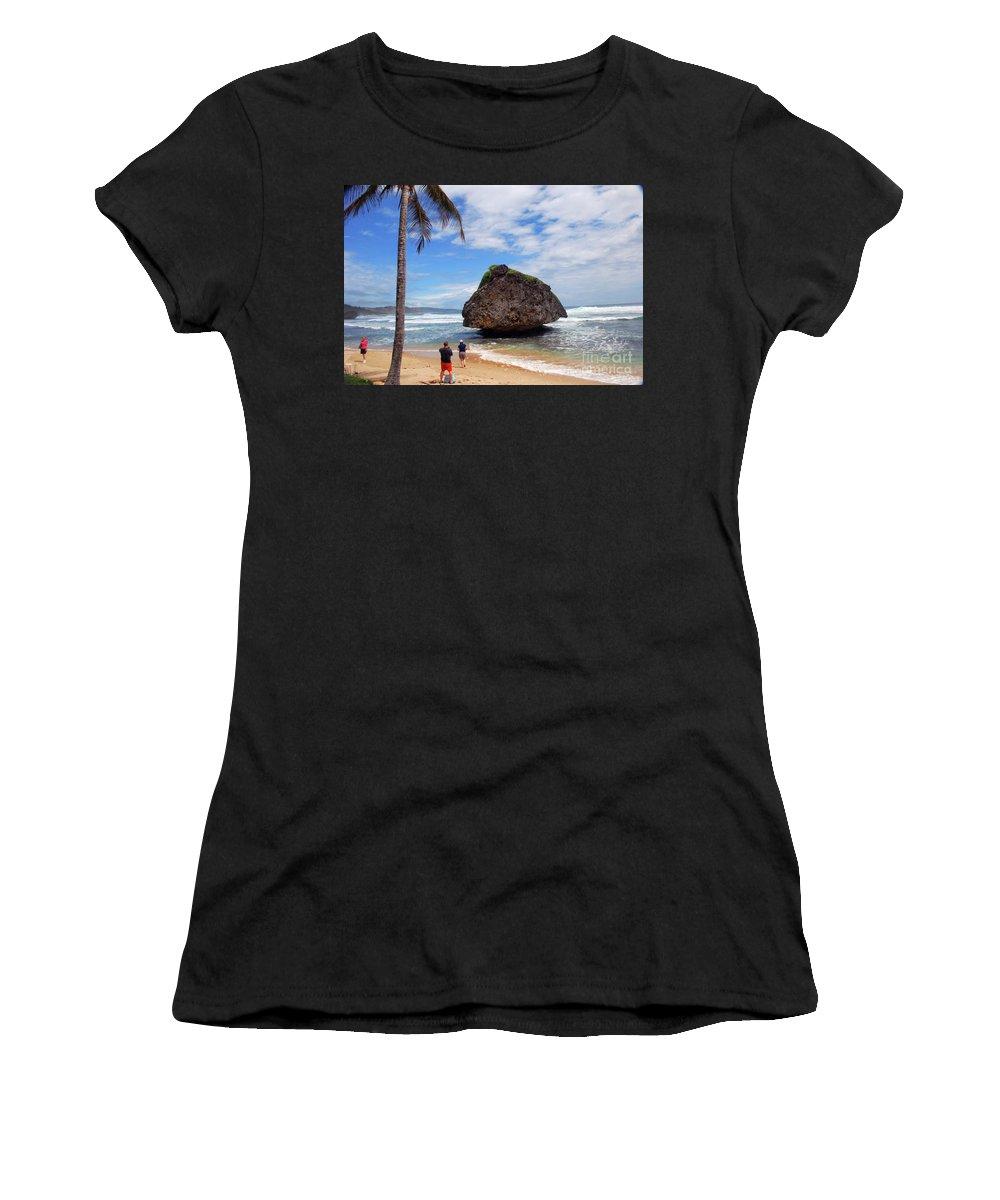 Barbados Women's T-Shirt featuring the photograph Barbados by Gary Wonning