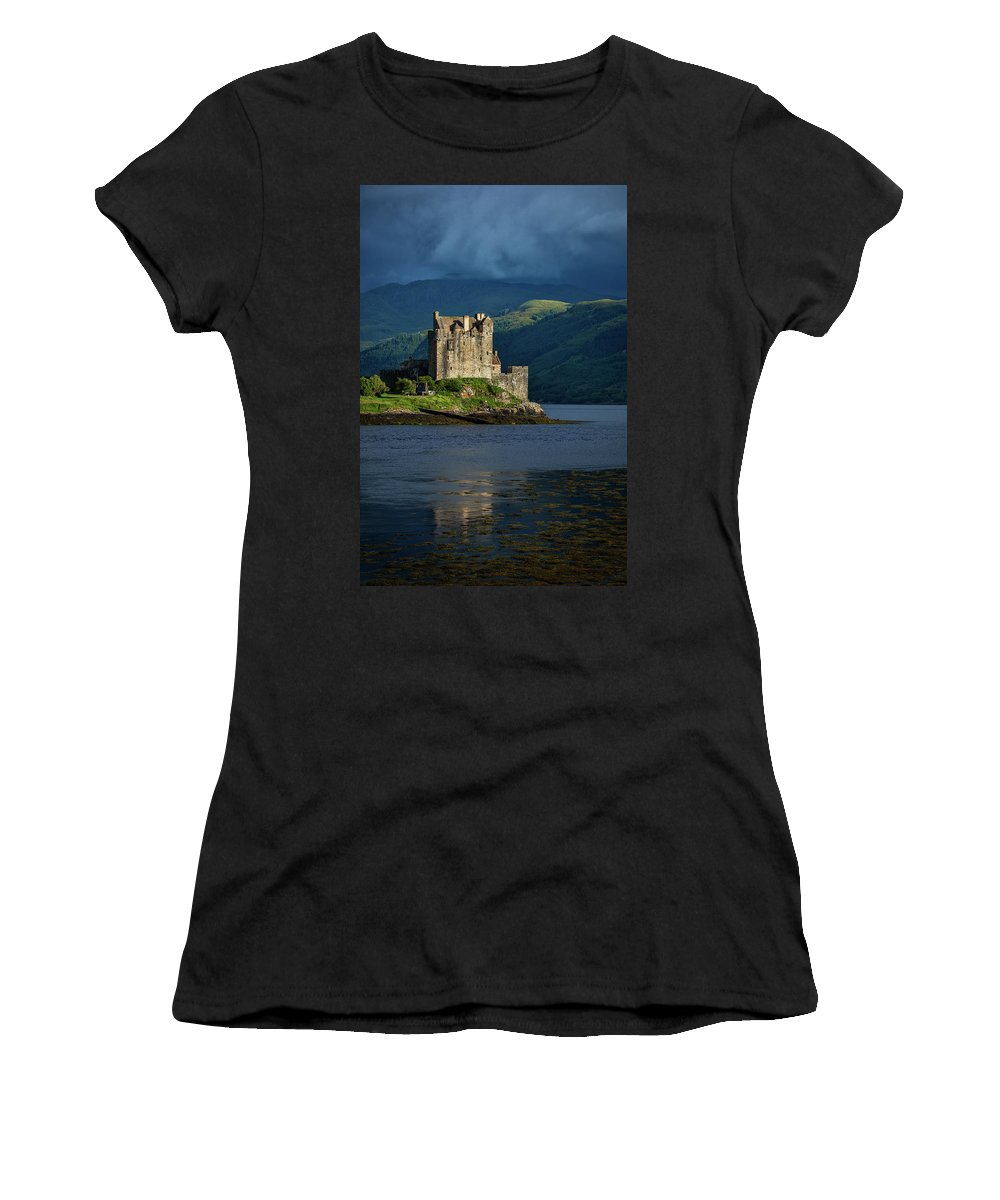 Europe Women's T-Shirt (Athletic Fit) featuring the photograph Castle by Christian Heeb