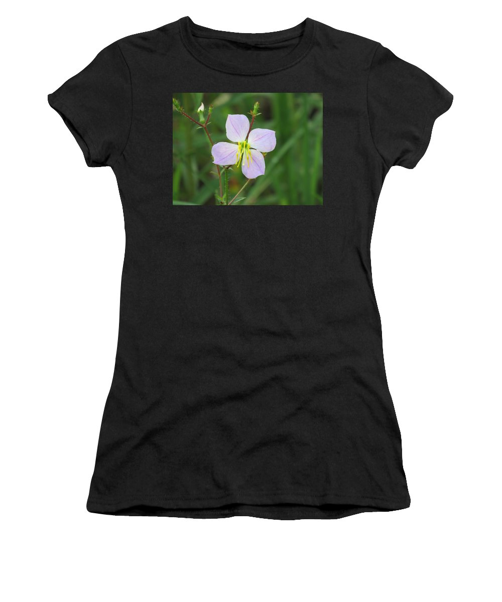 Flower Women's T-Shirt featuring the photograph Flower by Philip Wolfkill