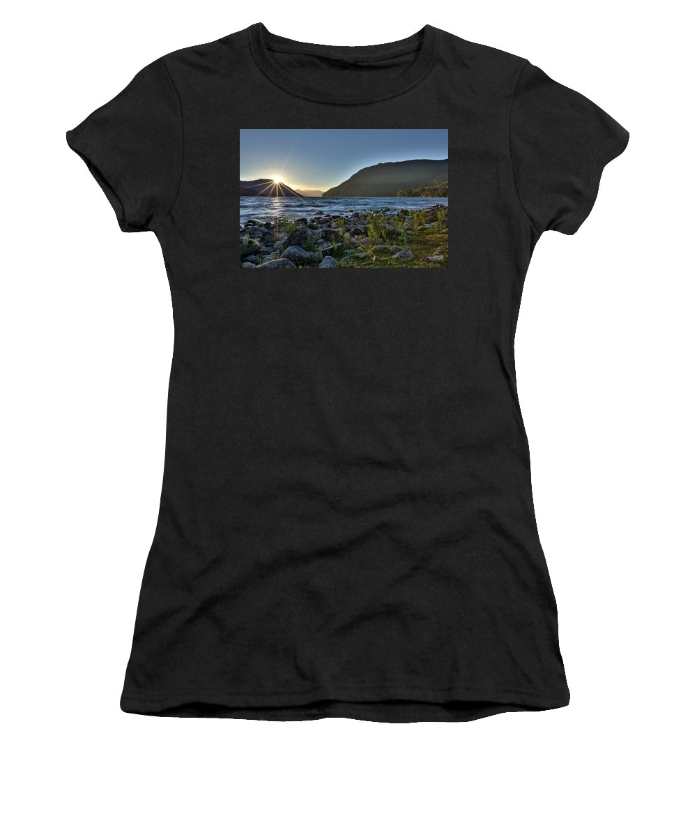 Patagonia Travel South America Argentina Nature Women's T-Shirt featuring the photograph Patagonia Landscape by Rodrigo Kaspary