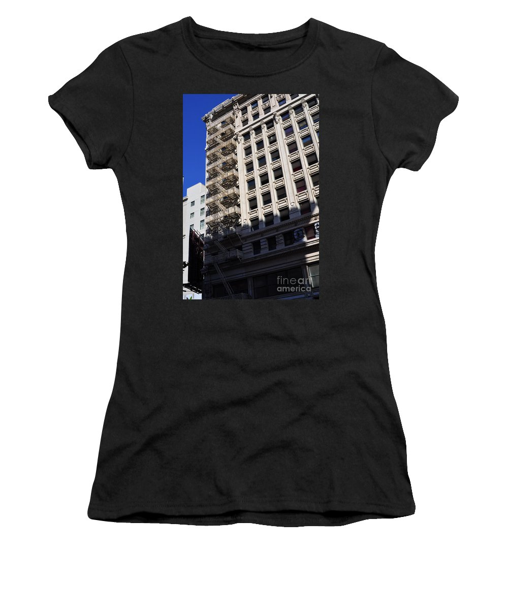Clay Women's T-Shirt (Athletic Fit) featuring the photograph Street Photography by Clayton Bruster