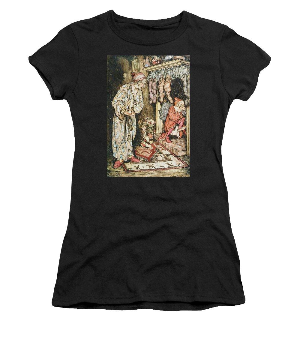Fireplace Drawings Women's T-Shirts