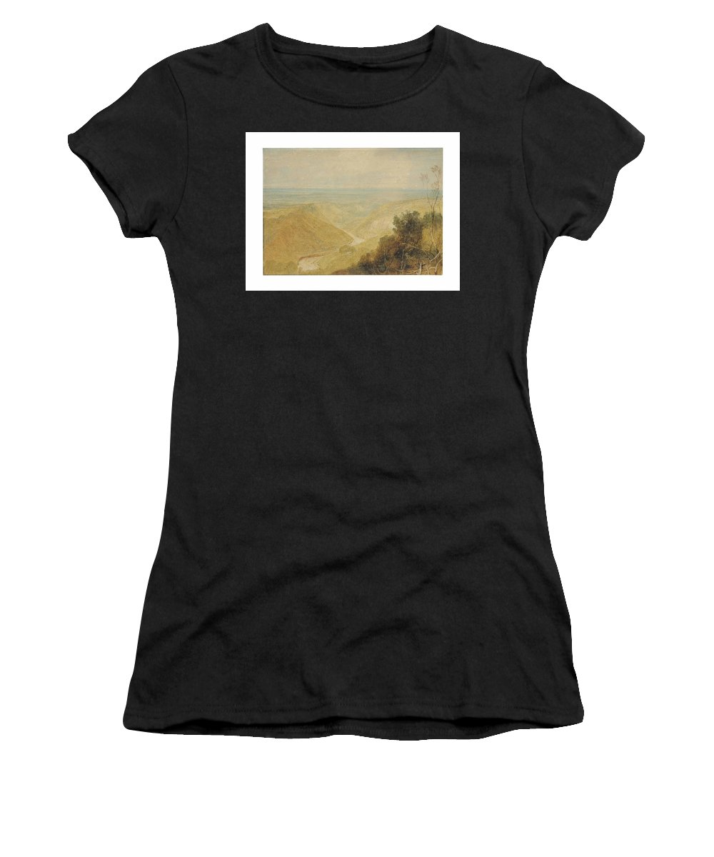 Joseph Mallord William Turner Women's T-Shirt (Athletic Fit) featuring the painting William Turner by Joseph Mallord