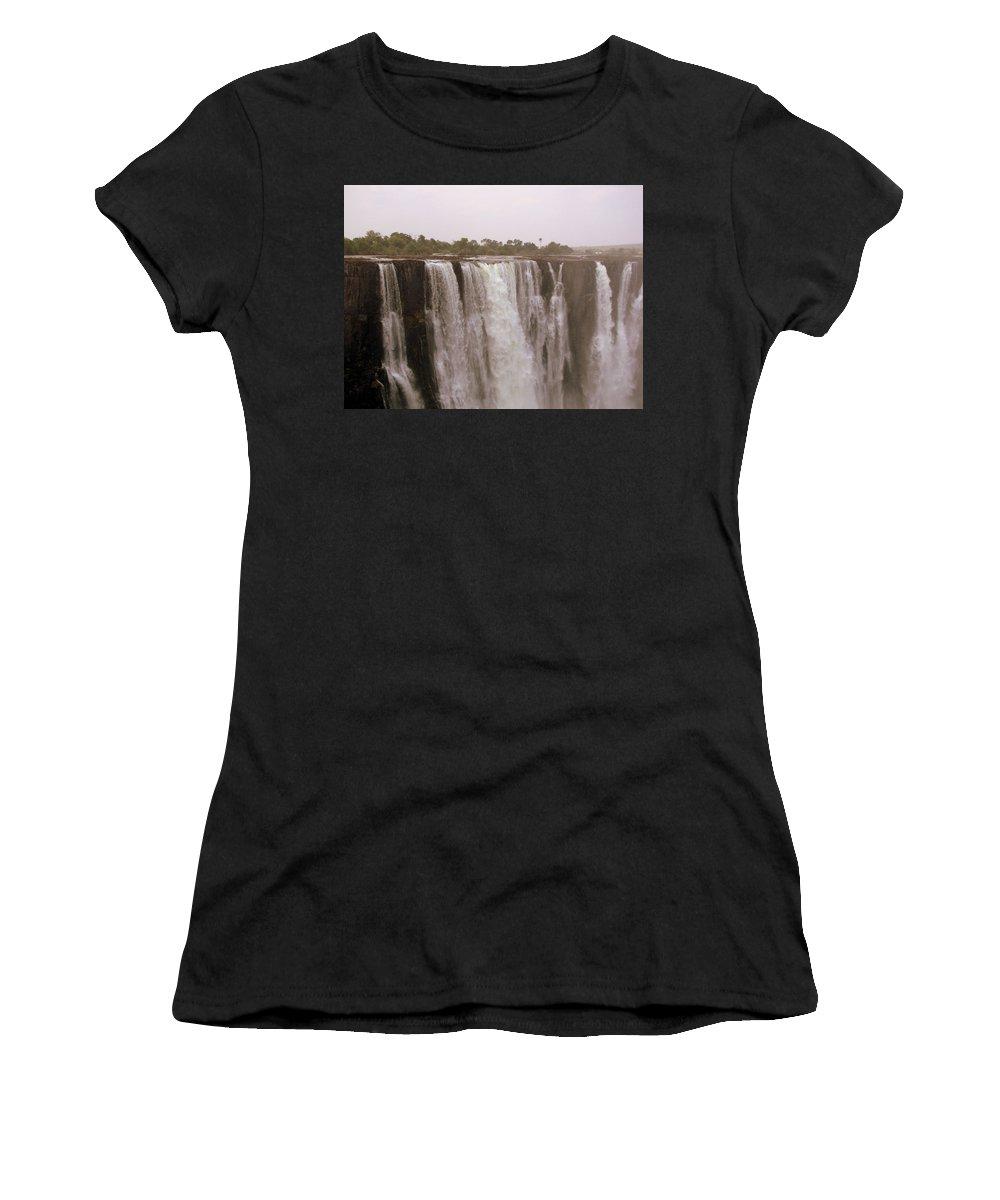 Zimbabwe Women's T-Shirt (Athletic Fit) featuring the photograph Zimbabwe by Paul James Bannerman
