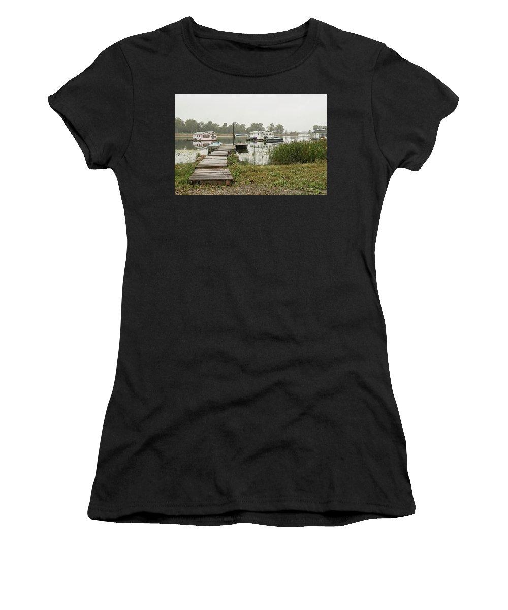 Women's T-Shirt featuring the photograph 2017 10 08 A 144 by Neil Smilek