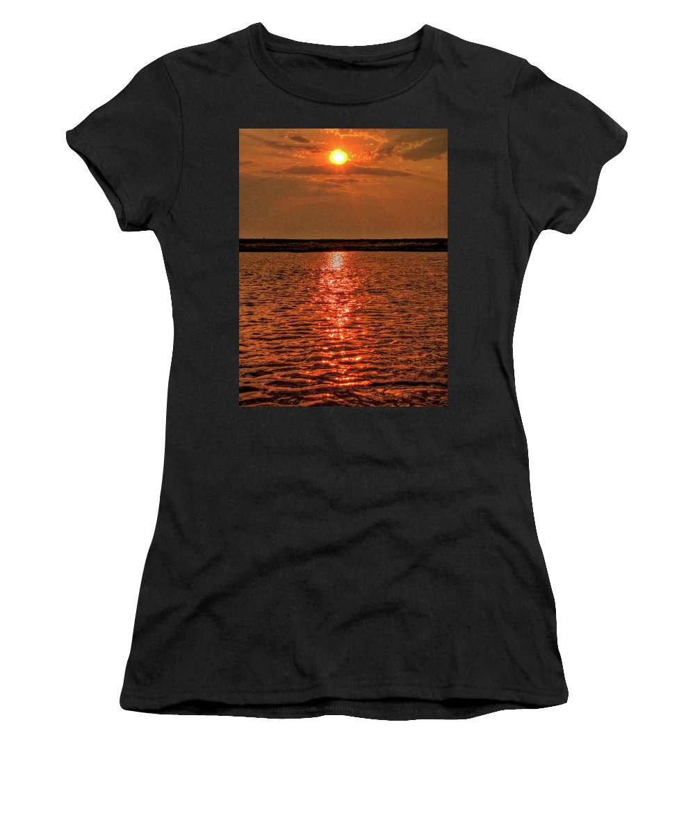Botswana Women's T-Shirt (Athletic Fit) featuring the photograph Botswana by Paul James Bannerman