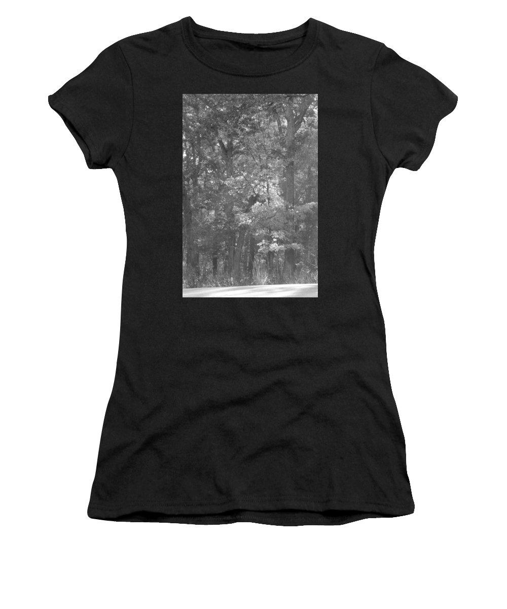 Ha Ha Tonka Women's T-Shirt featuring the photograph Ha Ha Tonka by Michael Munster