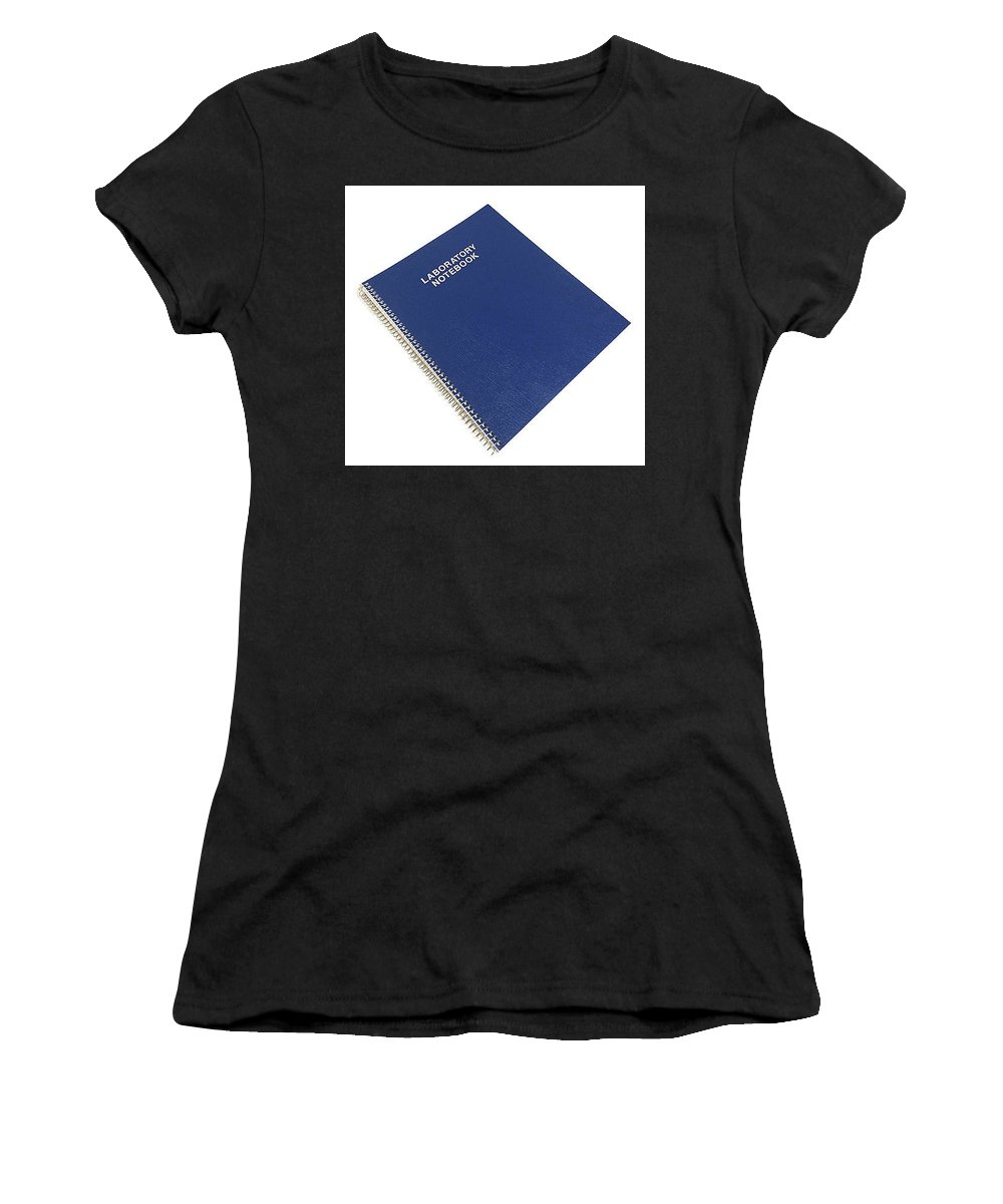 Engineering Notebook Women's T-Shirt (Athletic Fit) featuring the painting Scientific Notebook Company by Ben Gallup