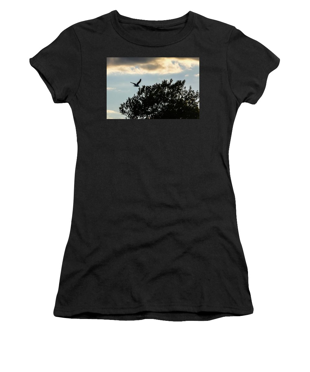 Sky Women's T-Shirt (Athletic Fit) featuring the photograph Jbhartgallery by Jeff Honforloco
