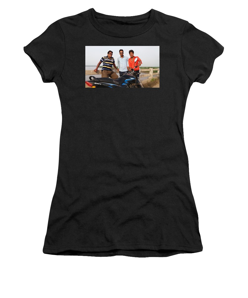 Harpal Singh Jadon Women's T-Shirt (Athletic Fit) featuring the photograph Harpal Singh Jadon by Harpal Singh Jadon Jadon