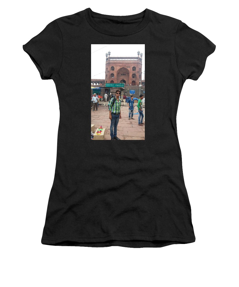 Harpal Singh Jadon Women's T-Shirt (Athletic Fit) featuring the photograph Harpal Singh Jadon by Harpal Singh Jadon Jadon