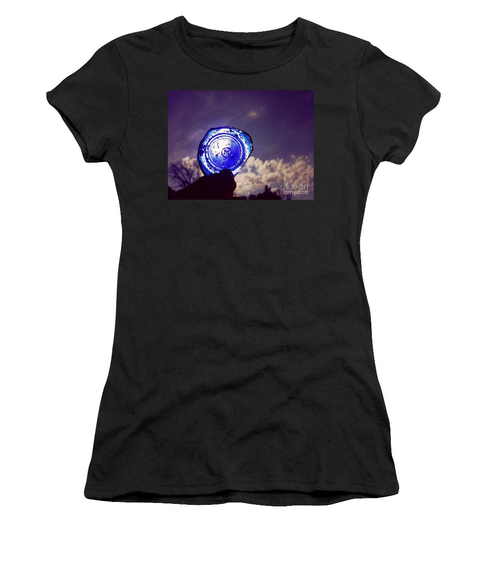Look Women's T-Shirt featuring the photograph A Look Through Time by Scott D Van Osdol