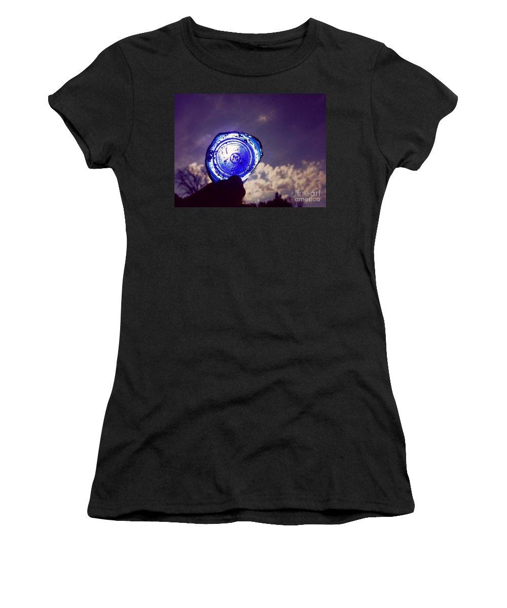Look Women's T-Shirt featuring the photograph A Look Through Time by Scott D Van Osdol