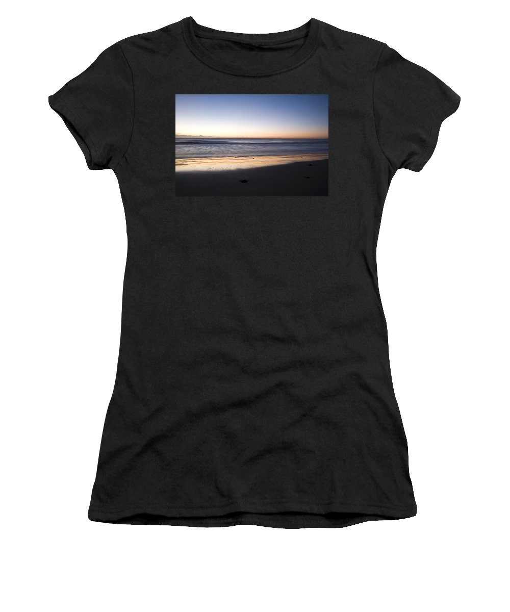 Coast Women's T-Shirt (Athletic Fit) featuring the photograph Irish Dawn by Ian Middleton