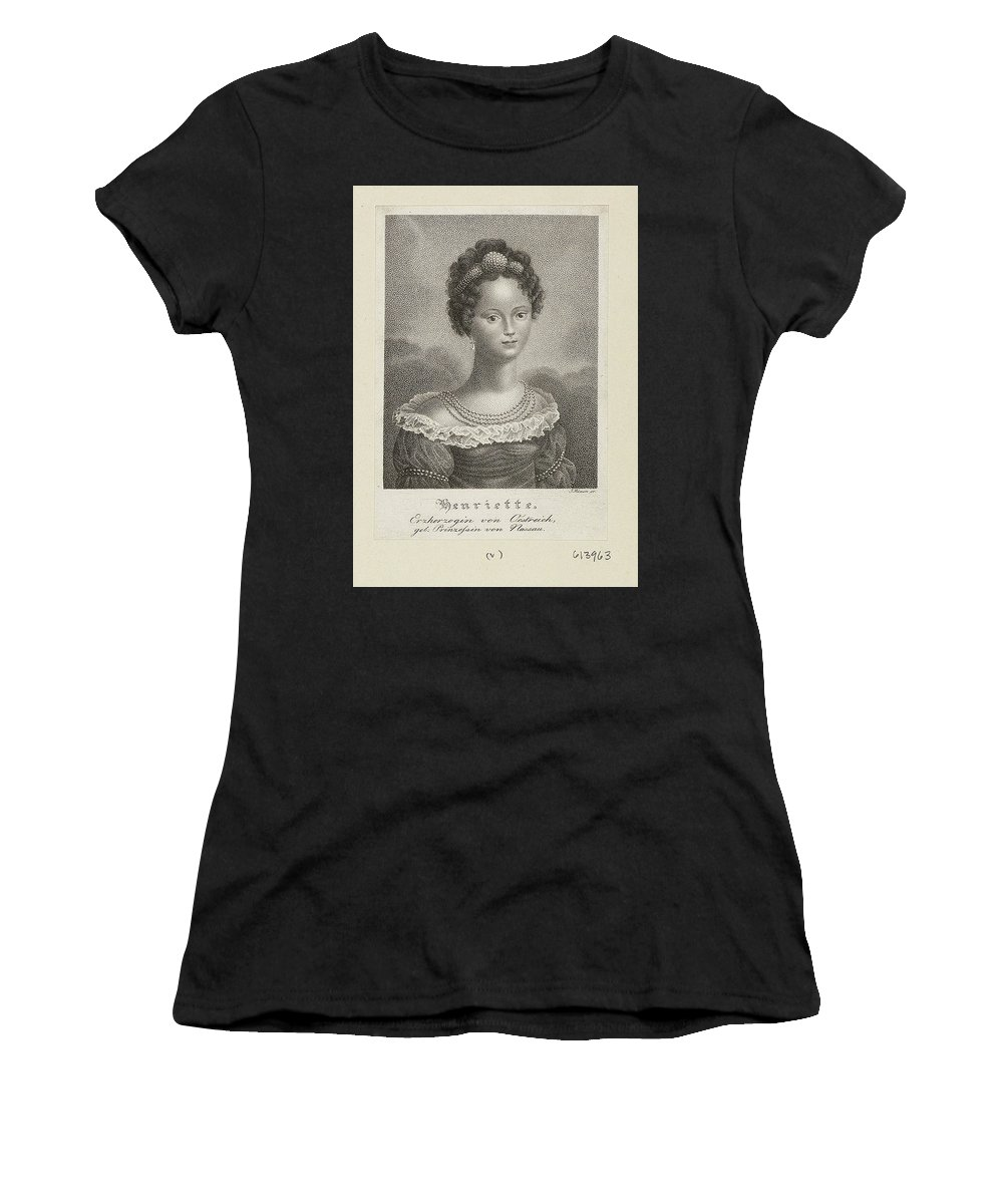 José Rémon (1908 - 1955) Women's T-Shirt (Athletic Fit) featuring the painting Royal Collection by MotionAge Designs