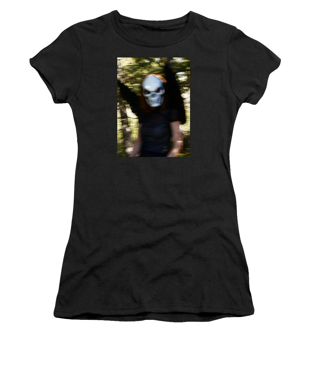 Women's T-Shirt (Athletic Fit) featuring the digital art 4 by Terry Wiklund