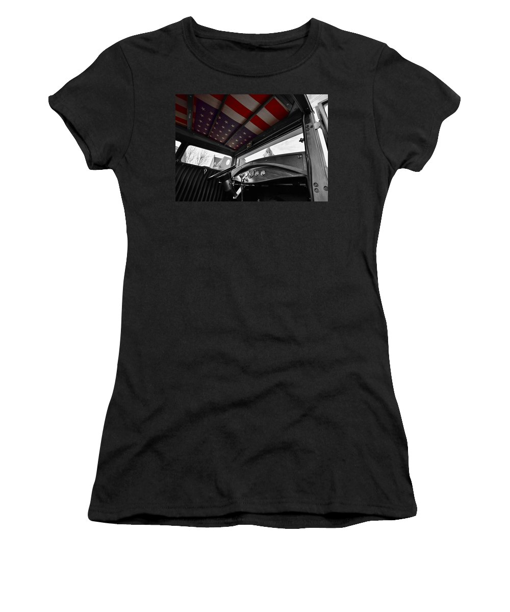 48 Women's T-Shirt (Athletic Fit) featuring the photograph 48 Stars by Ash