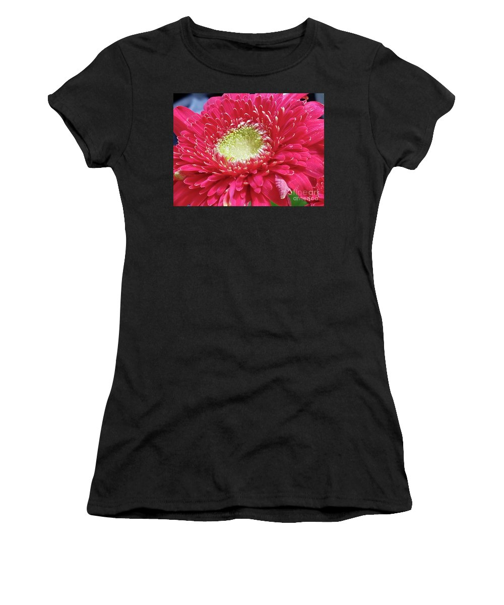 Flower Women's T-Shirt (Athletic Fit) featuring the digital art Flowers by Sobano S