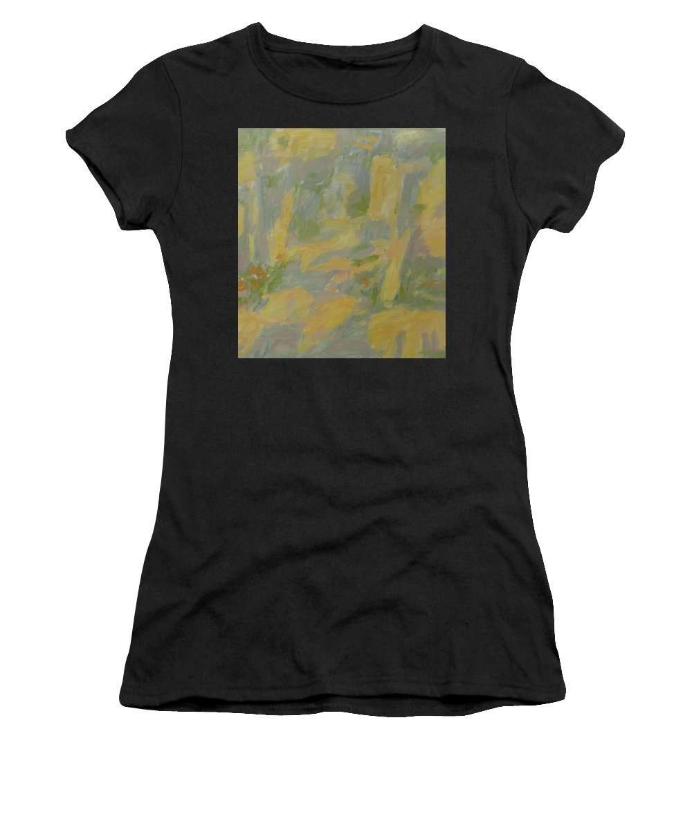 Park Women's T-Shirt featuring the painting Garden by Robert Nizamov