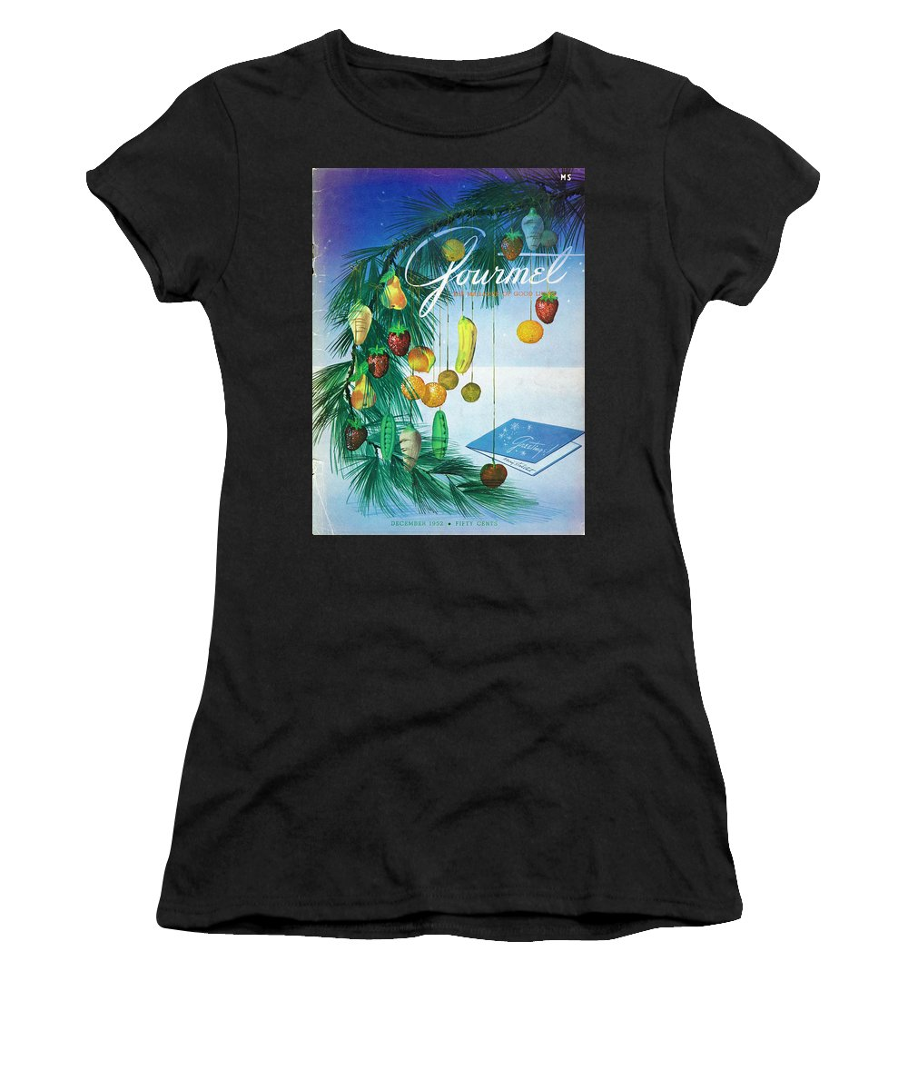 Food Women's T-Shirt featuring the photograph A Gourmet Cover Of Marzipan Fruit by Henry Stahlhut