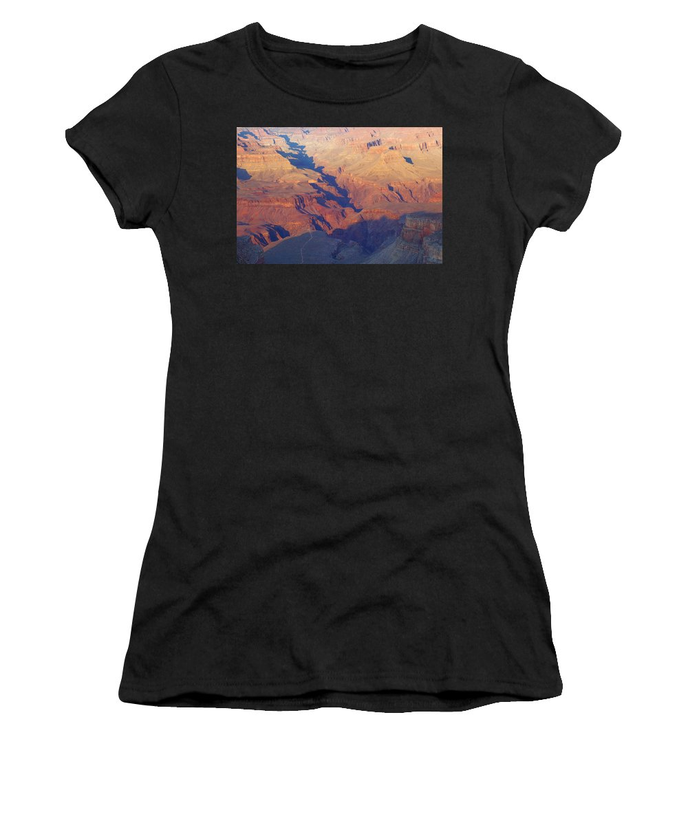 Autumn Women's T-Shirt (Athletic Fit) featuring the photograph A Mile Deep by Beth Collins