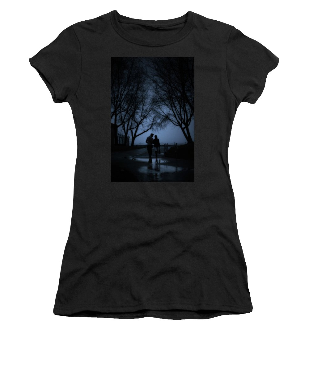 Toronto Women's T-Shirt (Athletic Fit) featuring the photograph A Moment by Lisa Knechtel
