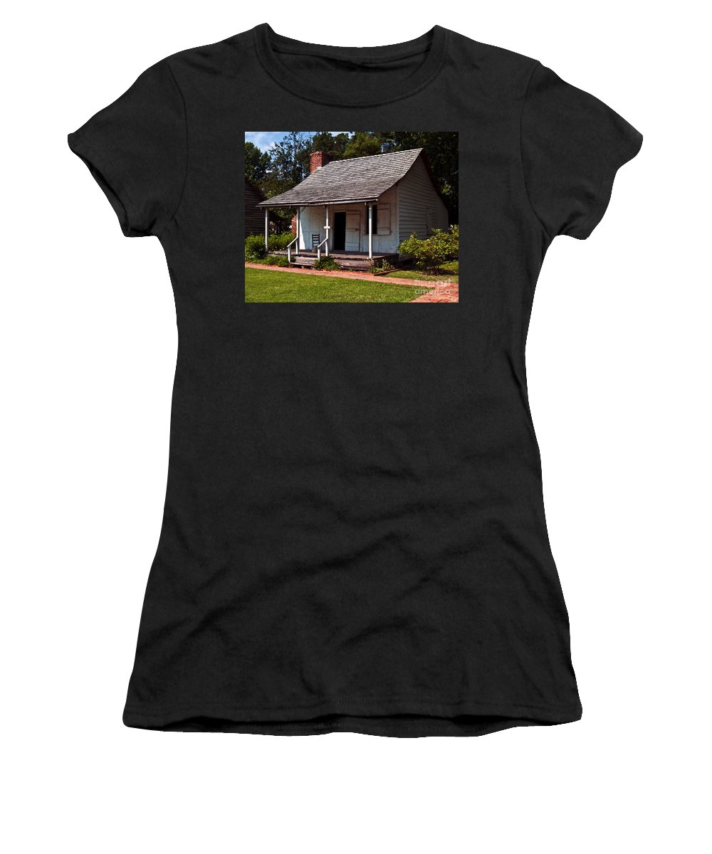 Plantation Women's T-Shirt (Athletic Fit) featuring the photograph A Place To Rest by Ken Frischkorn