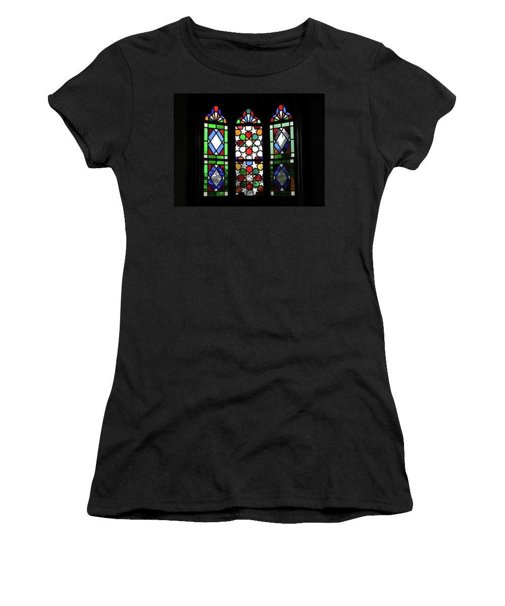 In Art Women's T-Shirt (Athletic Fit) featuring the photograph A Window To The Past by Marwan George Khoury
