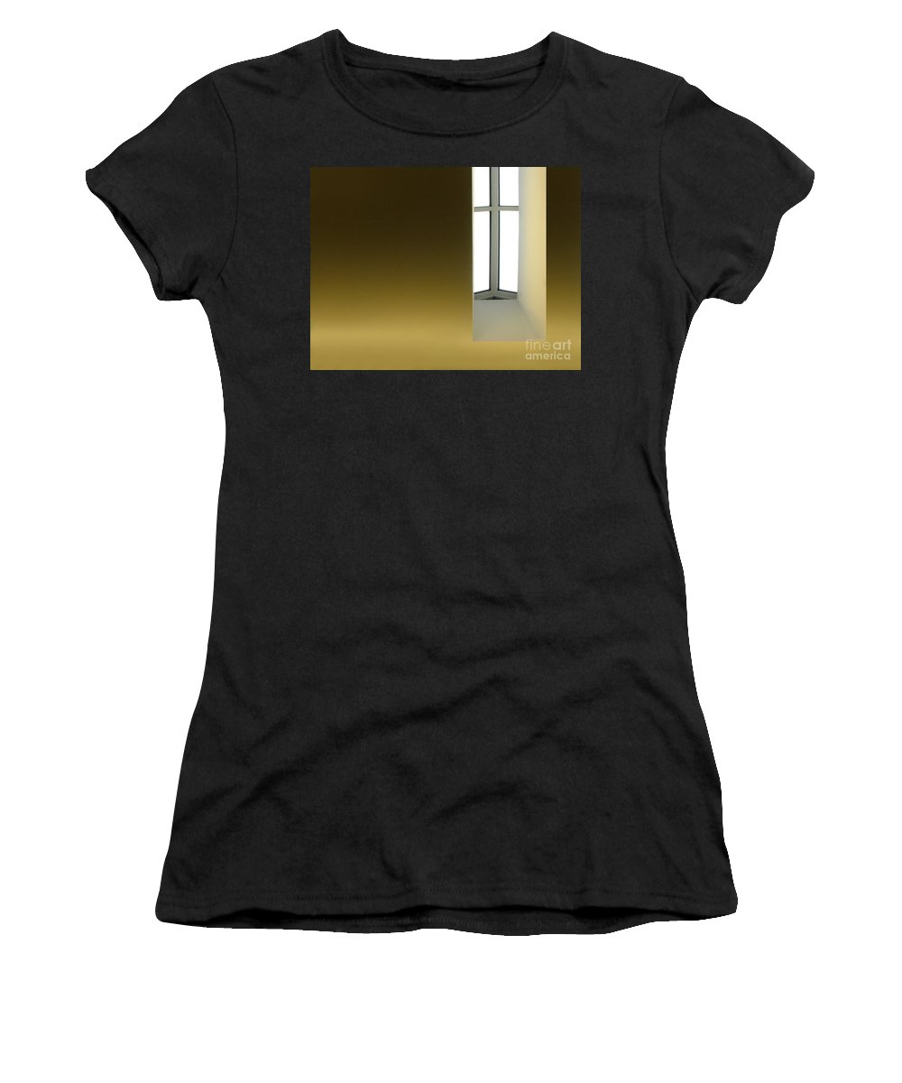 Architecture Women's T-Shirt (Athletic Fit) featuring the photograph Above Series 2.0 by Dana DiPasquale