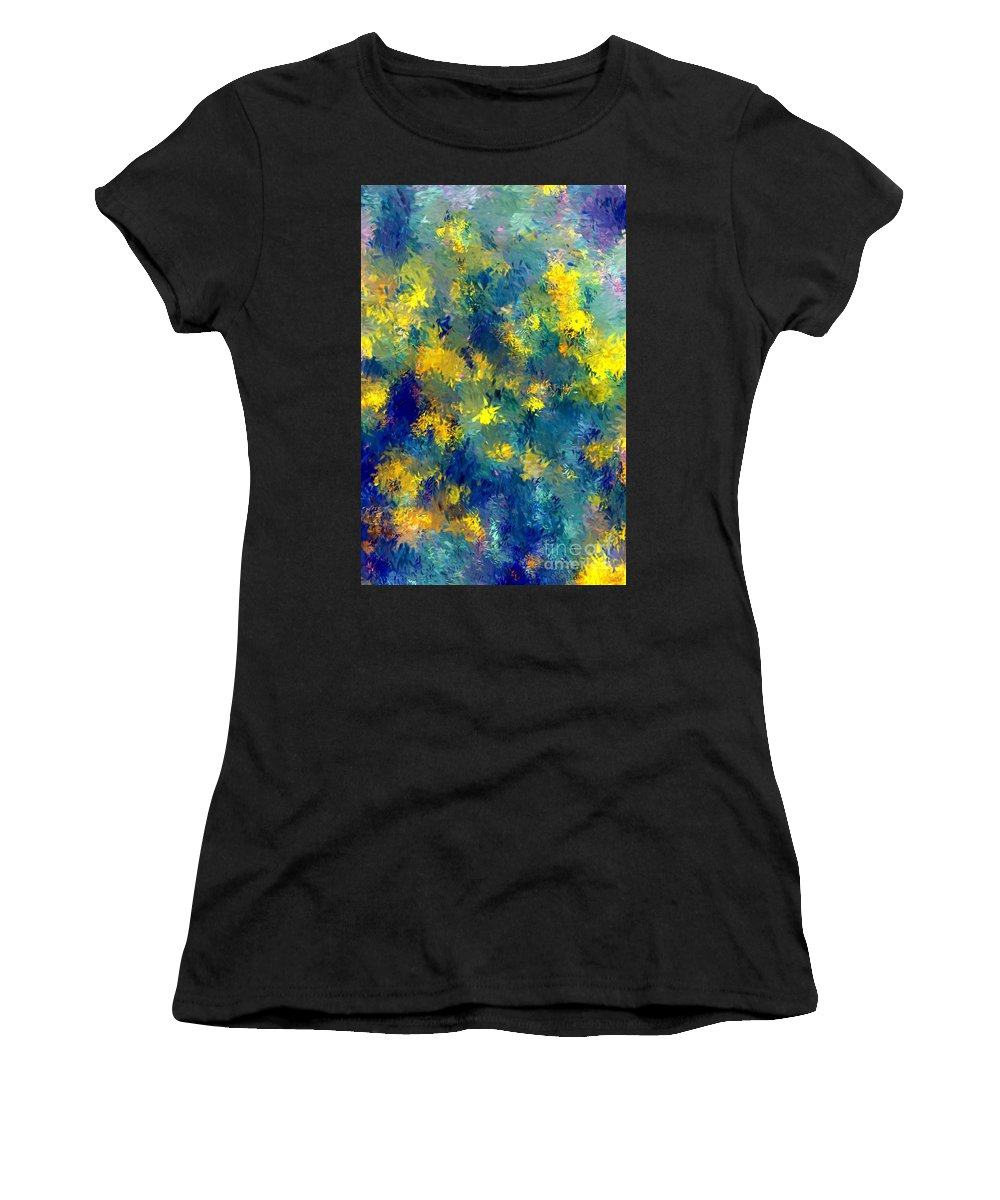 Abstract Women's T-Shirt featuring the photograph Abstract 06-28-09 by David Lane