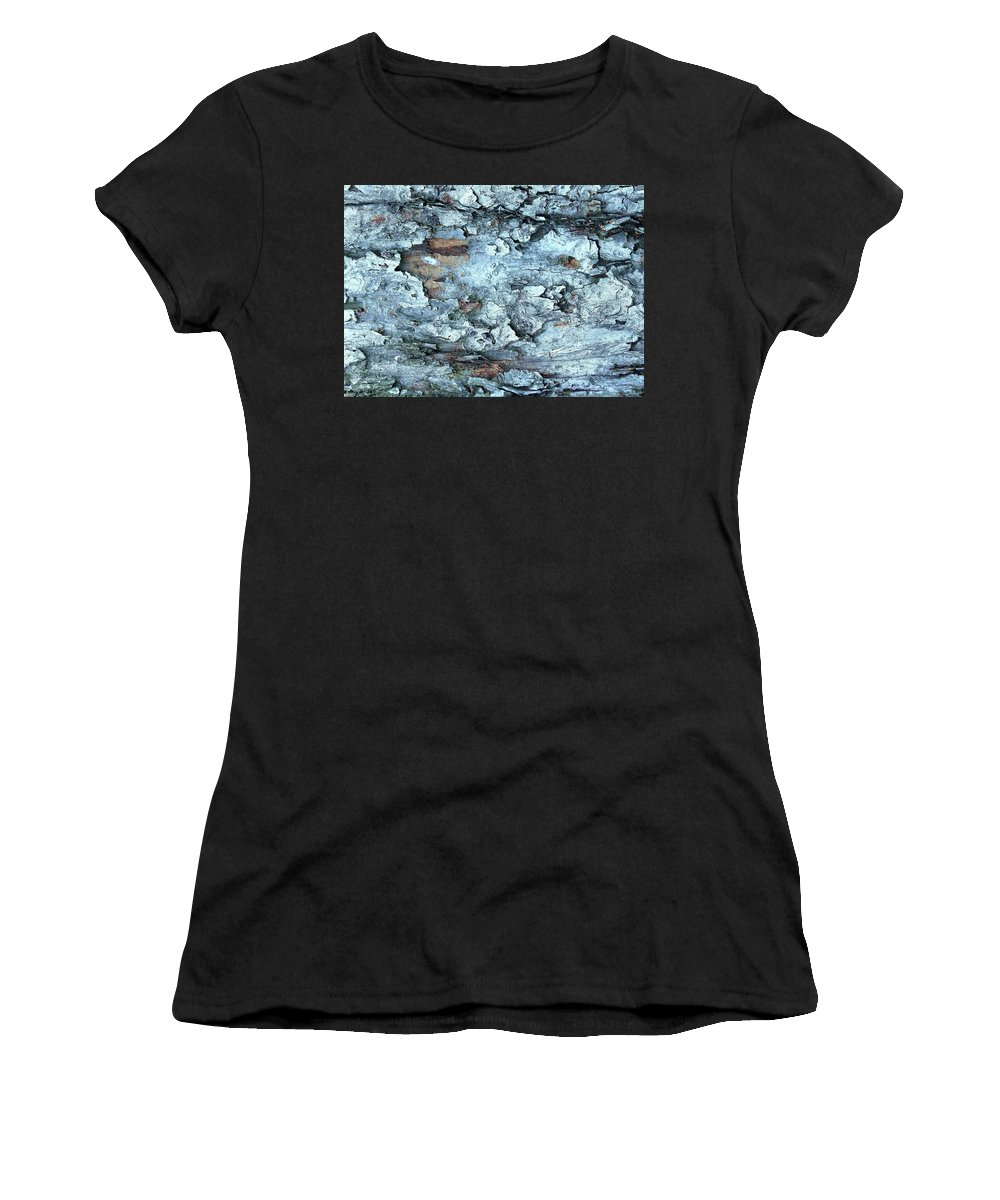 Abstract Women's T-Shirt (Athletic Fit) featuring the photograph Abstract 12 by Slawek Aniol