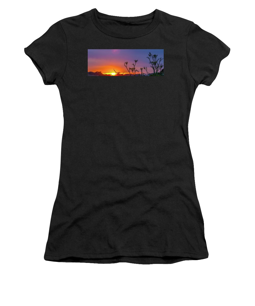 Vallejo Women's T-Shirt featuring the photograph Almost Gone by Kristofer M Johnson
