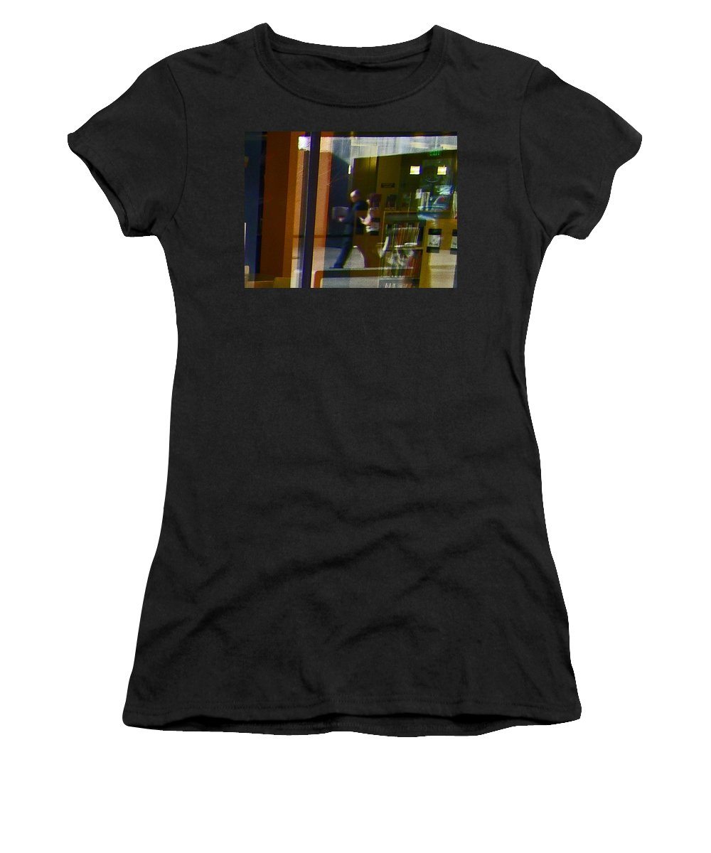 Abstract Women's T-Shirt (Athletic Fit) featuring the photograph Alternate Reality 2 by Lenore Senior