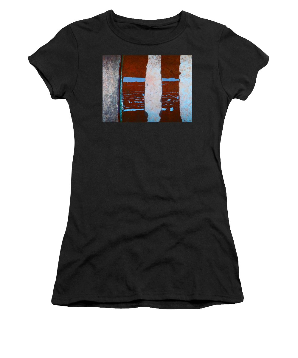 Abstract Women's T-Shirt (Athletic Fit) featuring the photograph Alternate Reality 20 by Lenore Senior