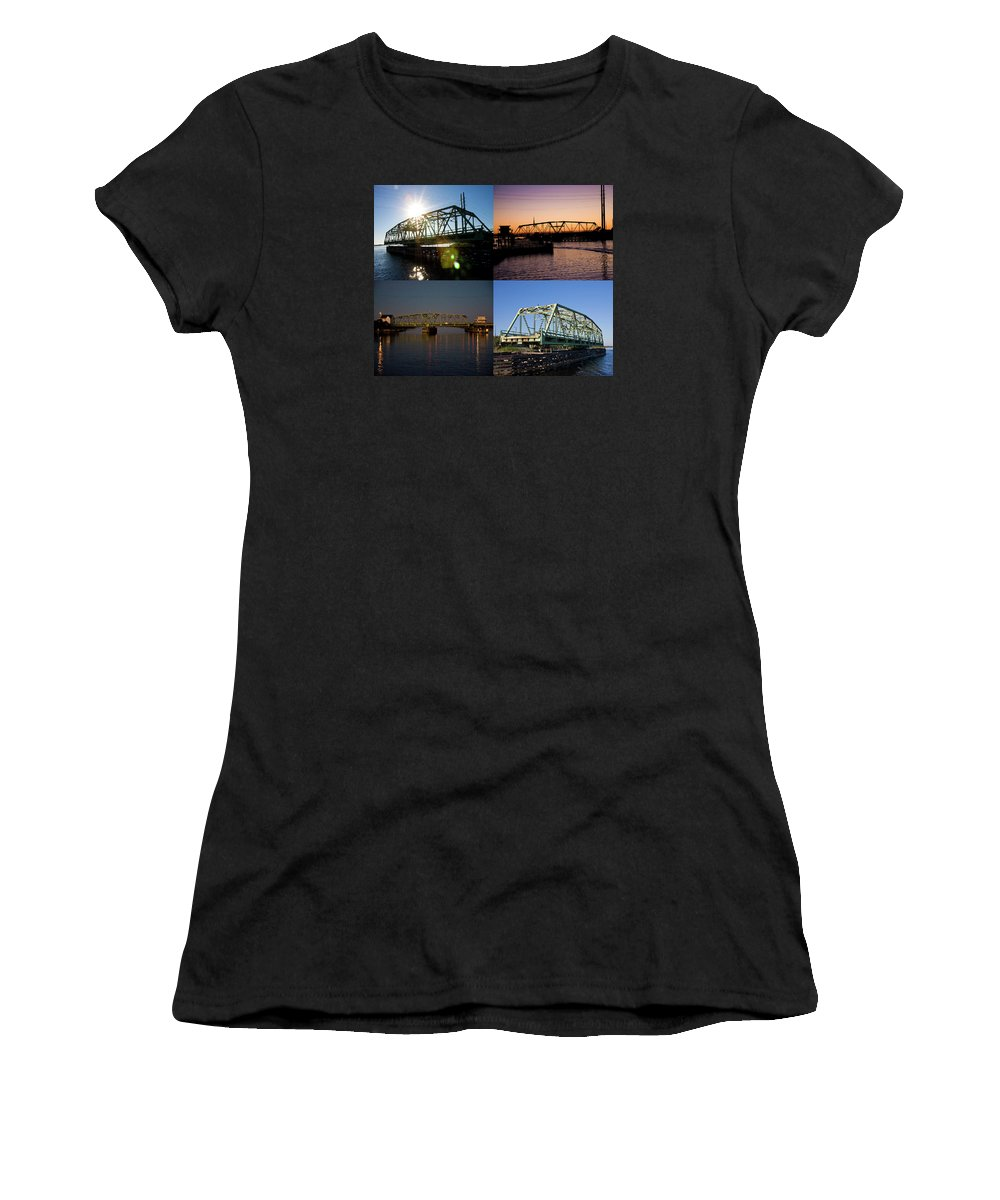 Topsail Women's T-Shirt (Athletic Fit) featuring the photograph Always At Work by Betsy Knapp