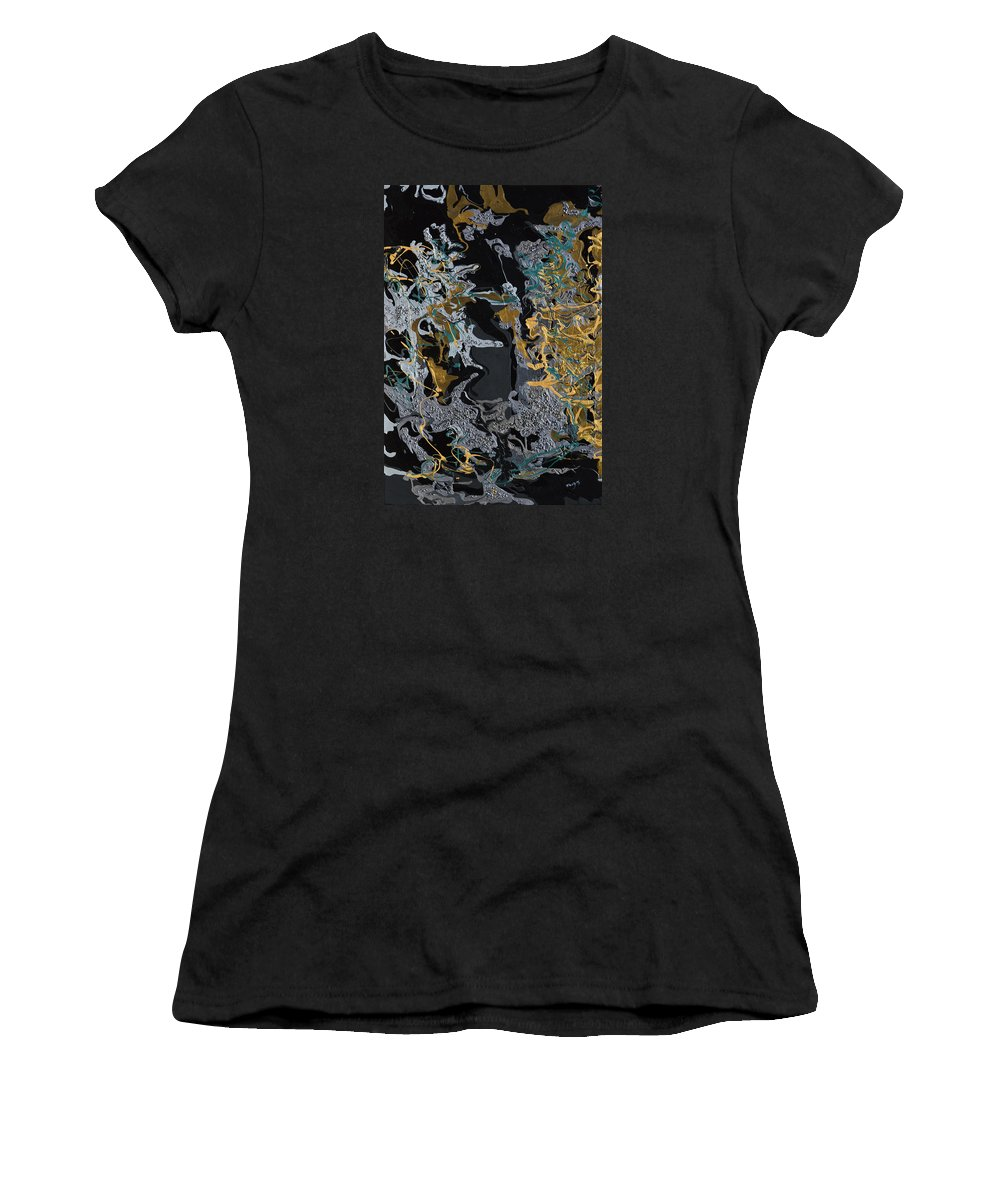 Evening Women's T-Shirt featuring the painting An Evening In The Orient by Donna Blackhall