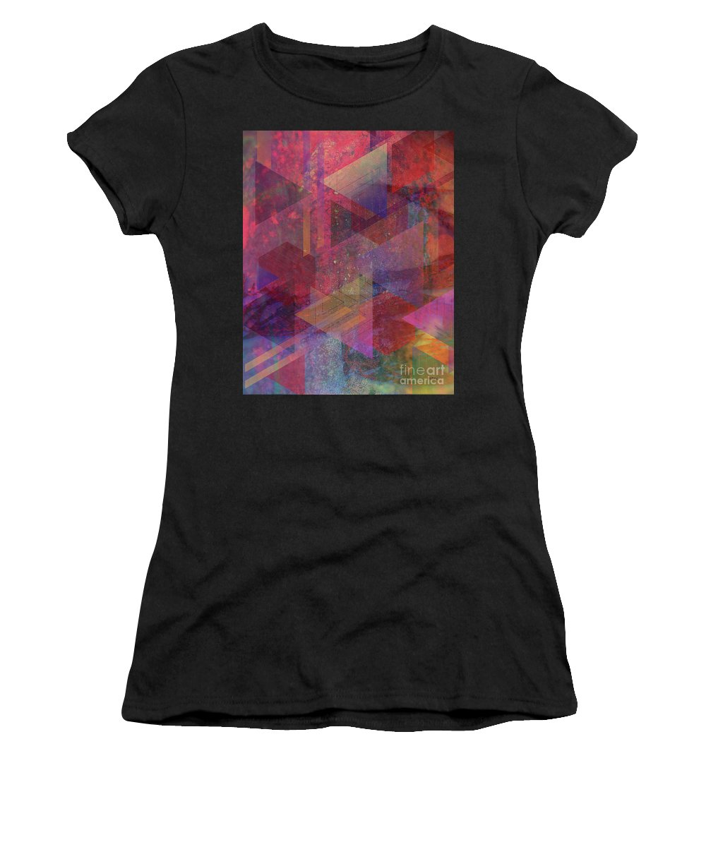 Another Place Women's T-Shirt (Athletic Fit) featuring the digital art Another Place by John Beck