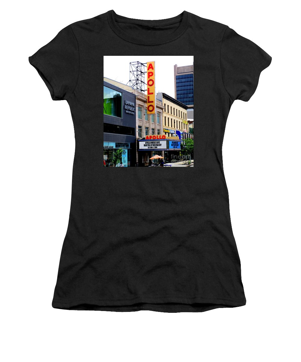 Apollo Theater Women's T-Shirts