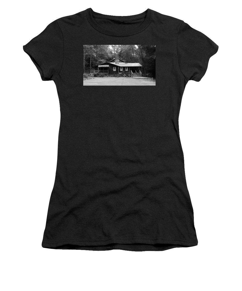 Keri West Women's T-Shirt featuring the photograph Appalachia House by Keri West