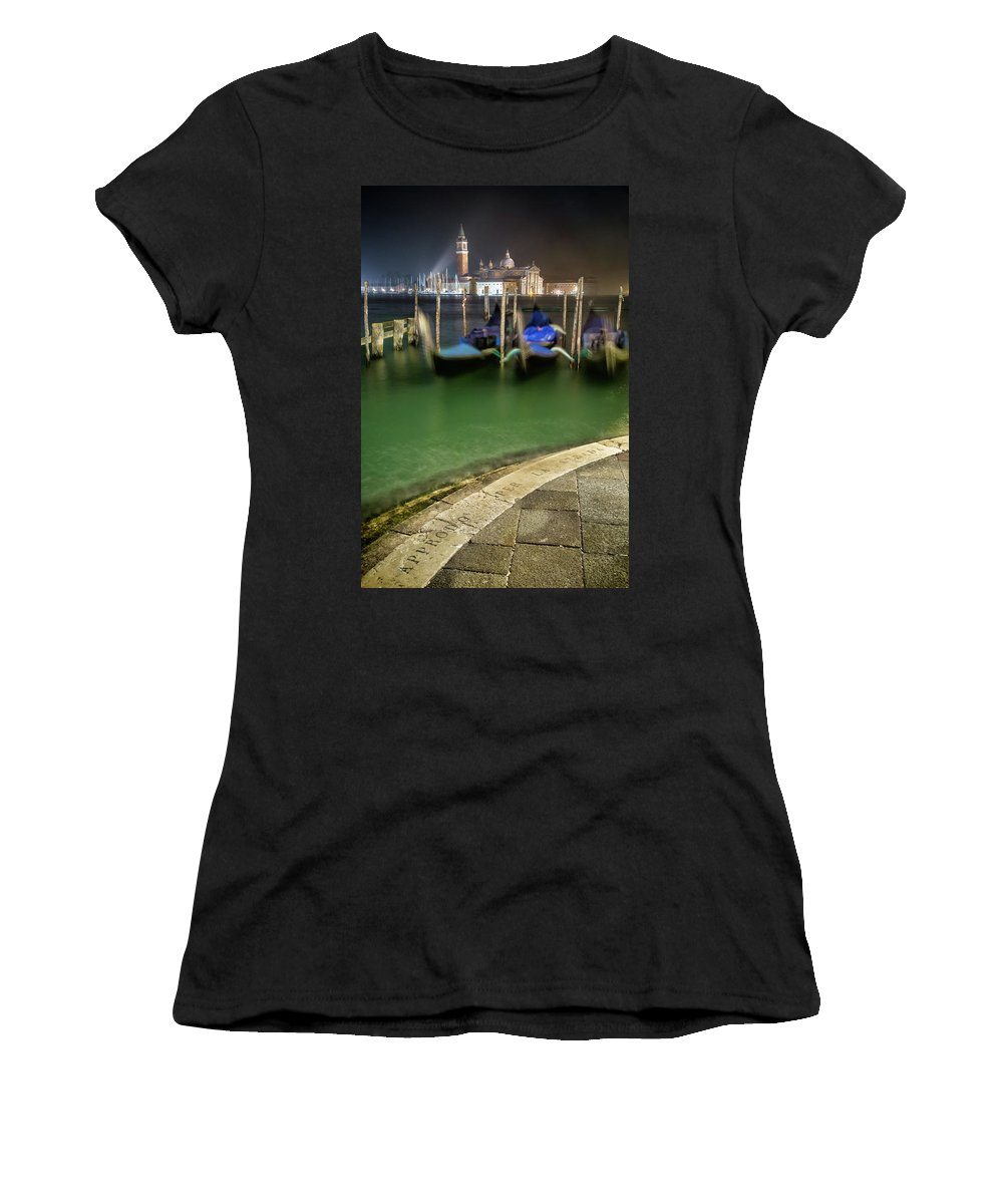 Landscape Women's T-Shirt (Athletic Fit) featuring the photograph Approdo Per La Strada by Chris Beard