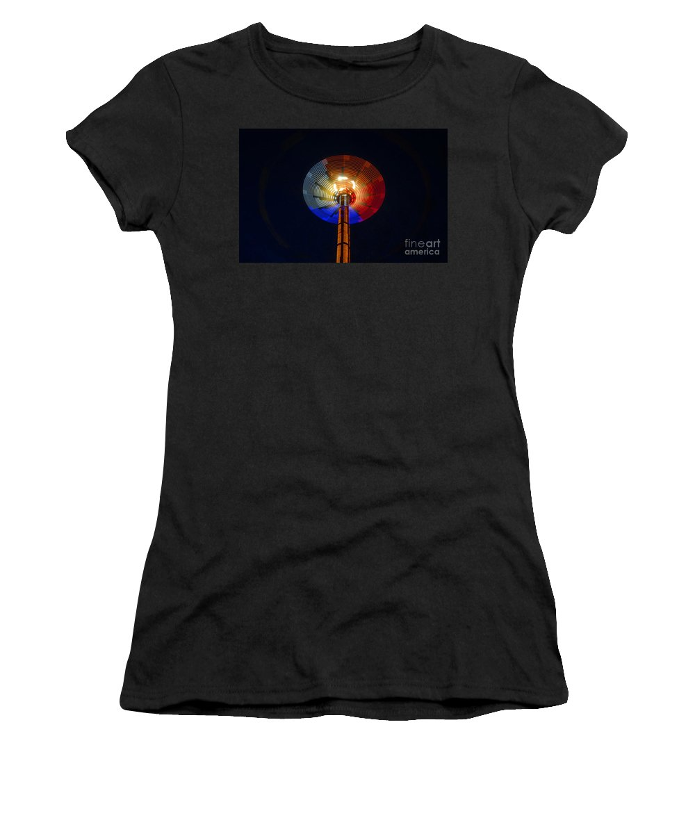 Modern Women's T-Shirt (Athletic Fit) featuring the photograph Area 51 by David Lee Thompson