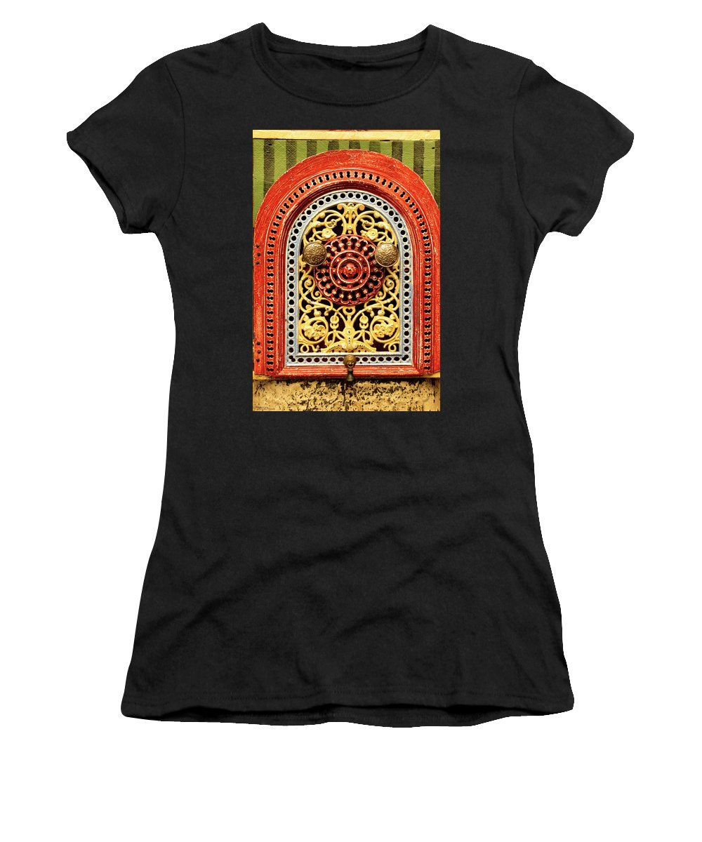 Box Women's T-Shirt (Athletic Fit) featuring the photograph Artful Mystery by Hany J