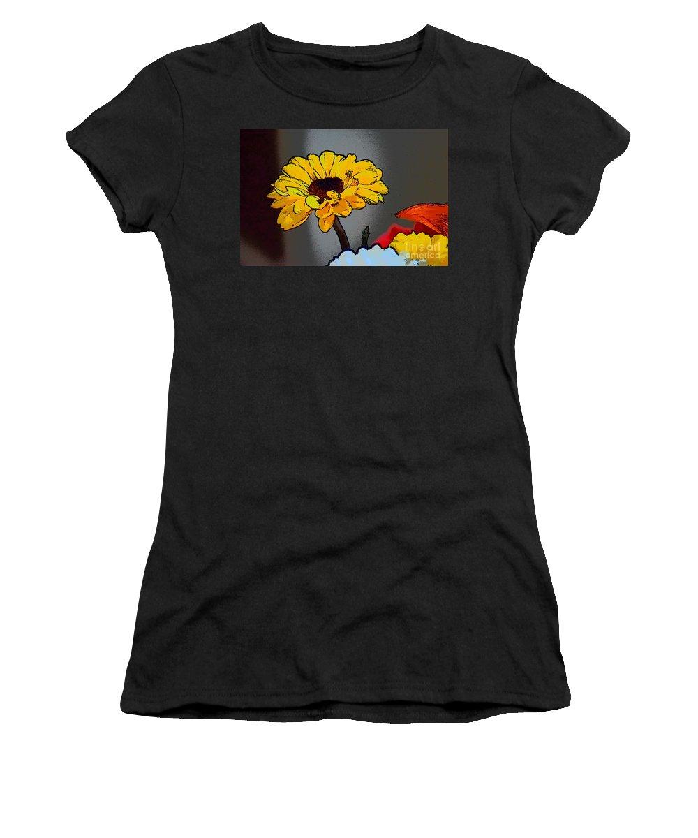 Artsy Sunshine Women's T-Shirt featuring the photograph Artsy Sunshine by Patti Whitten