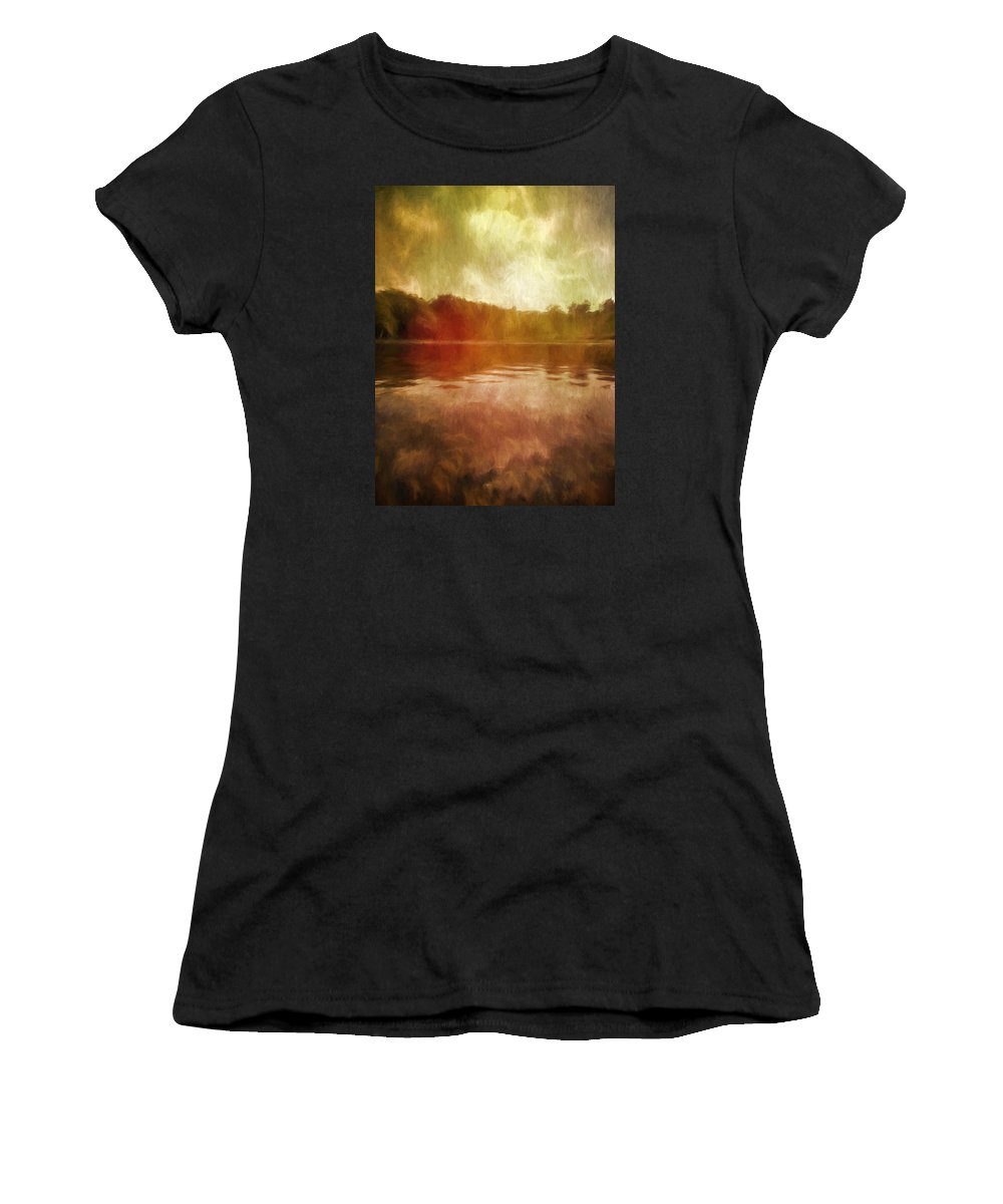 Museum Women's T-Shirt (Athletic Fit) featuring the photograph At The Clark I by Tina Baxter