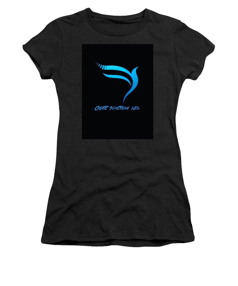 Creative Women's T-Shirt featuring the digital art Attrunshka by Anant Prakash