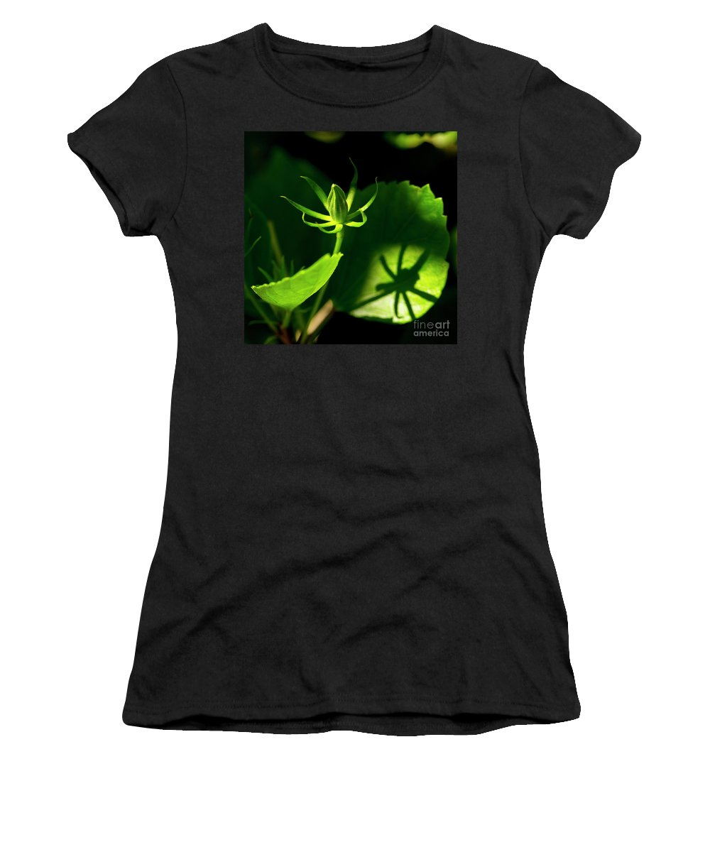 Florida6 Women's T-Shirt (Athletic Fit) featuring the photograph Awaiting Bloom by Brad Marzolf Photography
