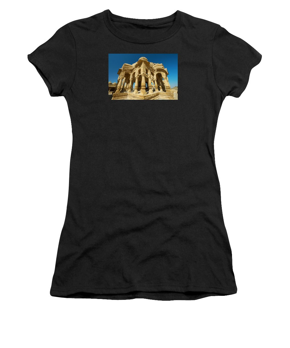 Bada Bagh Women's T-Shirt (Athletic Fit) featuring the photograph Bada Bagh by Yew Kwang