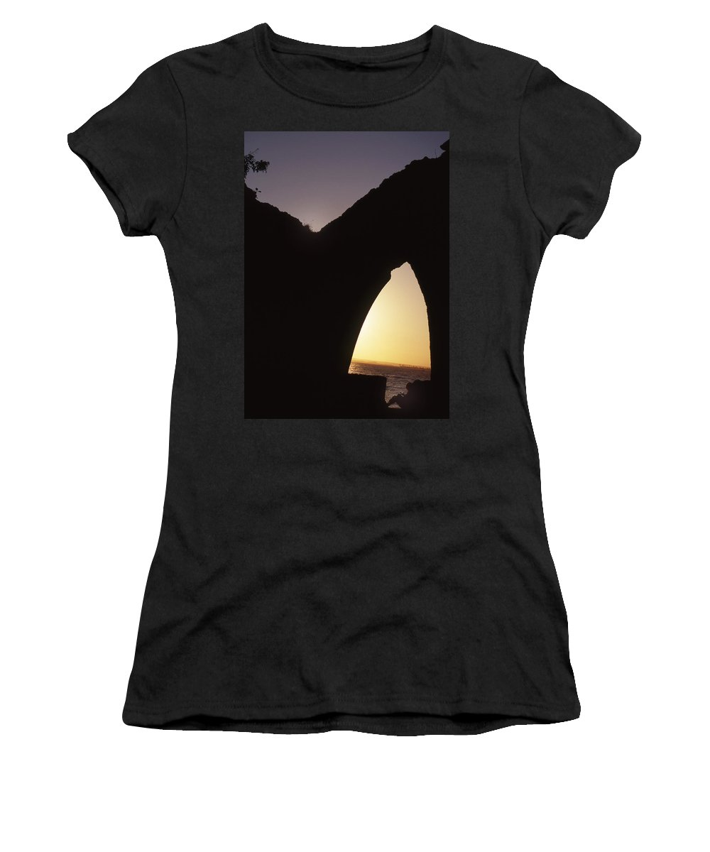 Bahia Women's T-Shirt (Athletic Fit) featuring the photograph Bahian Sunset by Patrick Klauss