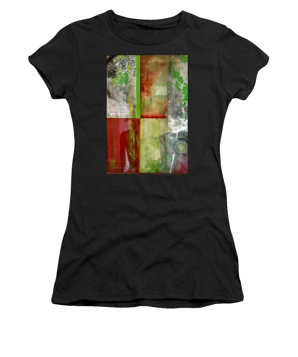 Women's T-Shirt featuring the painting Balance by Christopher Froese